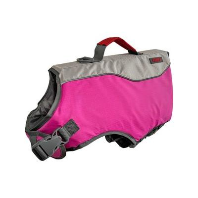 KONG Sport AquaFloat Dog Flotation Vest, Pink, Small; **Remember to measure your pet for the paw-fect fit.** Keep your fun-loving hound safe and secure around water with the KONG Sport\'s AquaFloat Dog Flotation Vest. Whether it's a day at the beach, an...