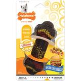 Nylabone RubberChew Flavor Frenzy Bacon Cheeseburger Flavored Dog Chew Toy, Regular