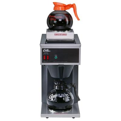 Curtis CAFE2DB10A000 Airpot Pour-Over Coffee Brewer w/ (1) Lower & (1) Upper Warmer, 1.9 L Capacity, Manual Fill, 120v on Sale