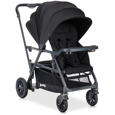 Joovy Caboose S with 1 Seat - Black Melange