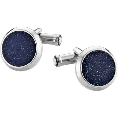 Cufflinks And Tie Clips - Metallic - Montblanc Cufflinks
