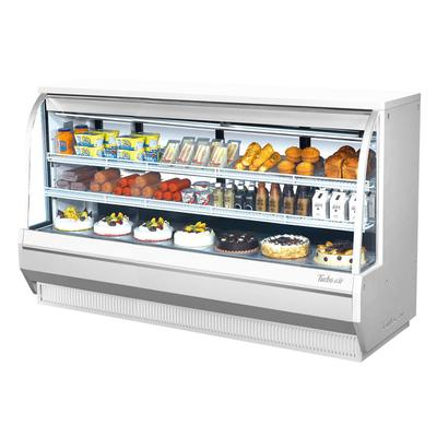 Turbo Air TCDD-96H-W-N 96.5 Full Service Deli Case w/ Curved Glass - (3) Levels, 115v on Sale