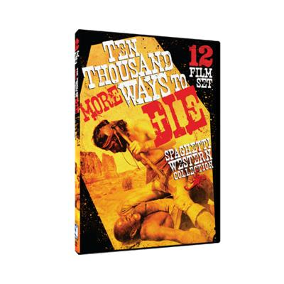 46% PRICE DROP: 10,000 More Ways To Die - Spaghetti Western Collection DVD