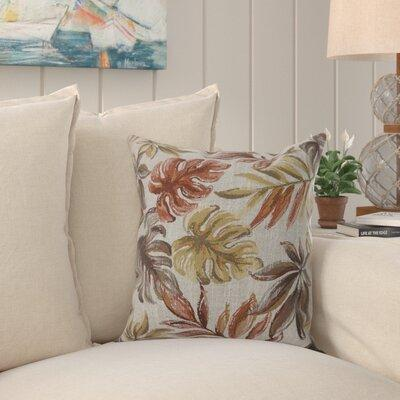 Get The Bay Isle Home Tharp Contemporary Leaf Throw Pillow Polyester Polyester Blend In Red Light Yellow Size 22 X 22 Wayfair From Wayfair Now Ibt Shop