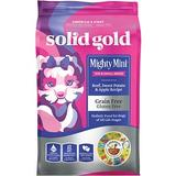 Solid Gold Mighty Mini Beef, Sweet Potato & Apple Recipe Grain-Free Small & Toy Breed Dry Dog Food, 11-lb bag