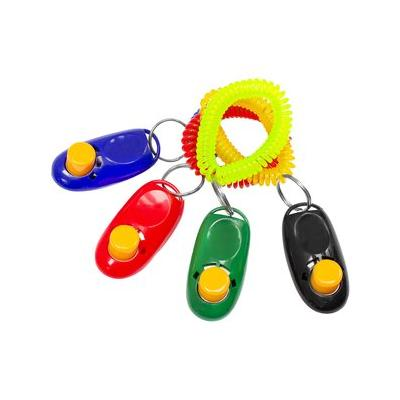 Downtown Pet Supply Training Dog Clickers, Color Varies, 4 pack