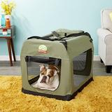 GoPetClub Soft Portable Pet Carrier, Sage, 32-in