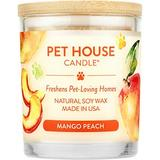 Pet House Mango Peach Natural Soy Candle, 8.5-oz jar