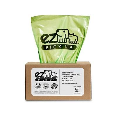 EZ Pickup Pet Waste Bags Pantry Pack, 1,000 count, Green