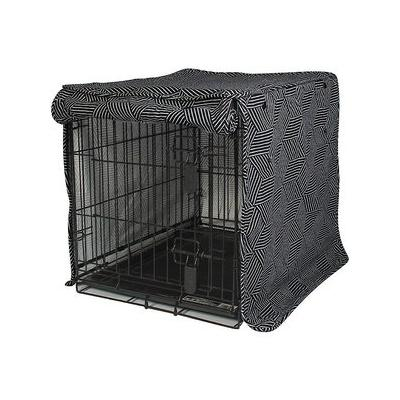 Molly Mutt Rough Gem Dog Crate Cover, Big