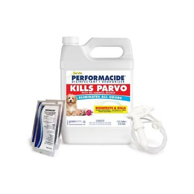 Performacide Kills Parvo Disinfectant & Deodorizer Kit, 1-gal jug