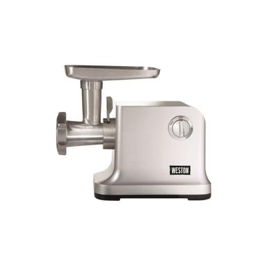 """""""Weston Products N.12 Electric Meat Grinder and Sausage Stuffer 750W - 1HP Stainless Steel"""""""