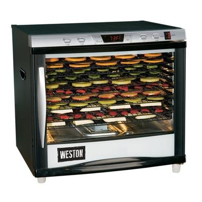 """""""Weston Products Outdoor Cooking Accessories Pro Series Digital Dehydrator - 80L 12 Tray w/ Timer"""""""