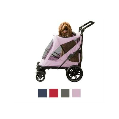Pet Gear Excursion No-Zip Dog & Cat Stroller, Mountain Lilac