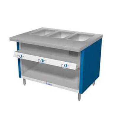 Duke TGHF-60SS 60 Hot Food Unit w/ 4 Dry Heat Wells & Water Pans, All Stainless, LP