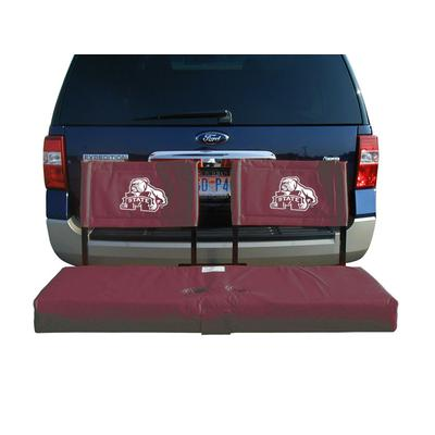 Mississippi State Bulldogs Tailgate Hitch Seat/Cargo Carrier
