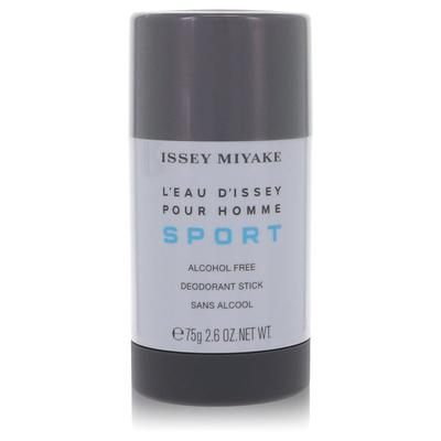 L'eau D'issey Pour Homme Sport For Men By Issey Miyake Alcohol Free Deodorant Stick 2.6 Oz