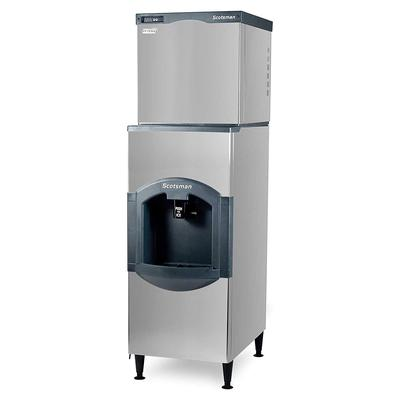 Scotsman C0630SA-32/HD30B-1 640 lb Half Cube Ice Maker w/ Ice Dispenser - 180 lb Storage, Bucket Fill, 208/230v/1ph on Sale