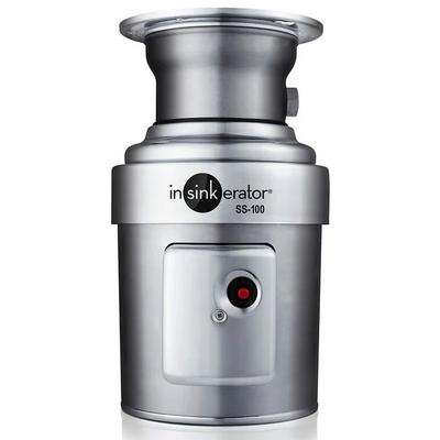 InSinkErator SS-100-5-MS Complete Disposer Package, 1 HP, #5 Adaptor, 115v
