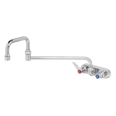 T&S B-1136 Faucet, 18Double Jointed Nozzle, Splash Mounted on Sale