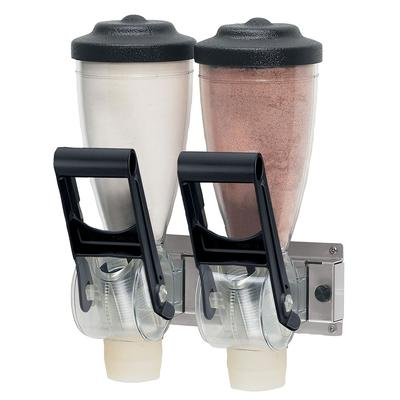 Server 86690 Dry Product Dispenser, Double, (2) 1 liter, Wall Mount on Sale