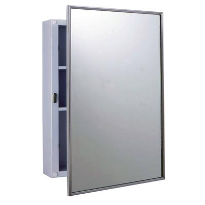 Bobrick B-297 Surface Mounted Medicine Cabinet, White Enamel Exterior on Sale