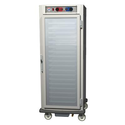 Metro C599-SFC-UPFC Full Height Insulated Mobile Heated Cabinet w/ (18) Pan Capacity, 120v
