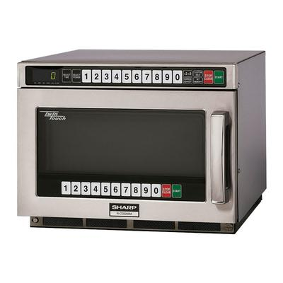 Sharp RCD2200M 2200w Commercial Microwave w/ Touch Pad, 230 208v/1ph on Sale