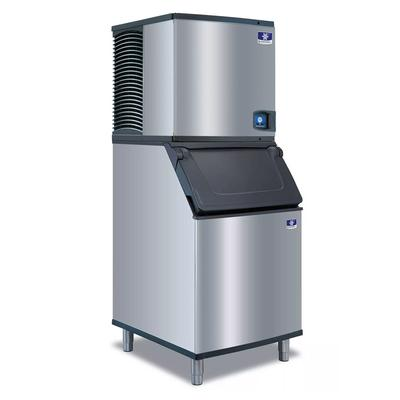 Manitowoc IDT0450A/D570 470 lb Full Cube Ice Maker w/ Bin - 532 lb Storage, Air Cooled, 115v on Sale