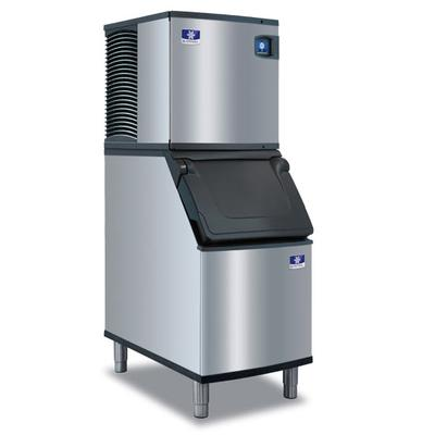 Manitowoc IDT0420A/D420 470 lb Full Cube Ice Maker w/ Bin - 383 lb Storage, Air Cooled, 115v on Sale