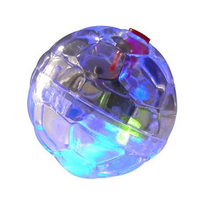 Ethical Pet LED Motion Activated Ball Cat Toy; Oh, what a night! With the LED Motion-Activated Ball from Ethical Pet, your disco diva can bring the dancefloor into your living room—all with the press of a button! Flip the switch and this ordinary ball...