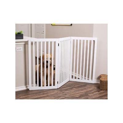 Internet's Best Traditional Pet Gate, White, 36-in