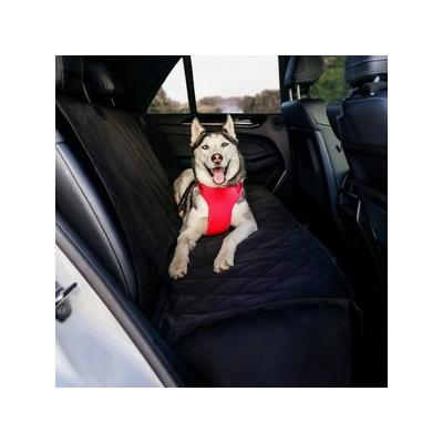 BarksBar Luxury Waterproof Car Seat Cover, Black, Extra Large