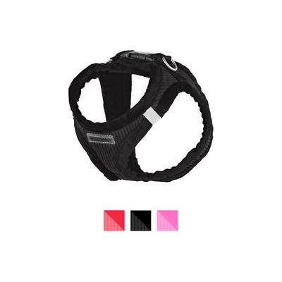 Best Pet Supplies Voyager Corduroy Dog Harness, Black, Small