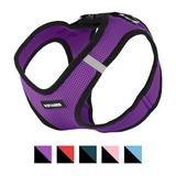 Best Pet Supplies - Best Pet Supplies Voyager Black Trim Mesh Dog Harness, Purple, X-Large