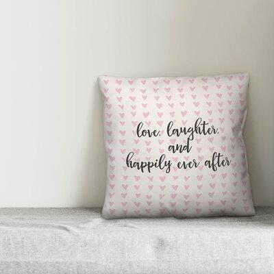 Decorative Throw Pillow Ever after