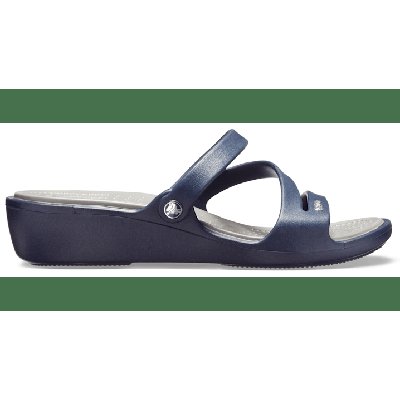 Crocs Navy / Smoke Women's Patricia Sandal Shoes on Sale