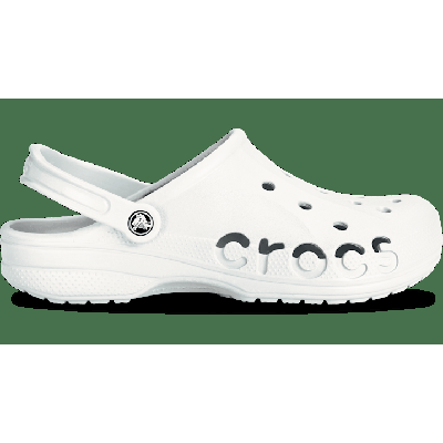Crocs White Baya Clog Shoes on Sale