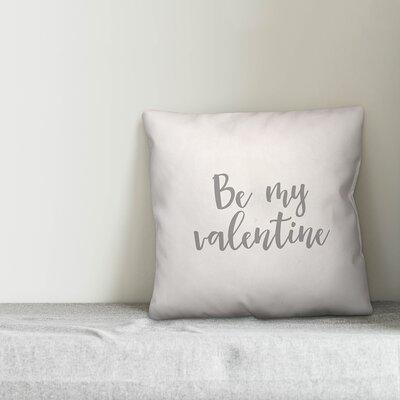 Ebern Designs Shipley Ti Amo Throw Pillow Product Type Pillow Cover Polyester Polyfill Polyester Polyester Blend In Pink Red Size 16x16 Wayfair Shefinds