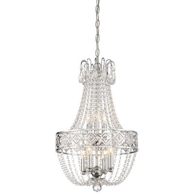 Minka Lavery Parsons Studio Brushed Nickel 18'' Wide Glass Mini Chandelier