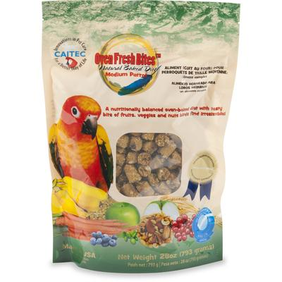 Switch your bird from seed to oven fresh! Veterinarians and avian nutritionists recommend Oven Fresh Bites for the protein, vitamins and minerals birds require for best health and longevity. Each slow-baked nugget offers whole grains and natural...