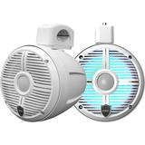 Wet Sounds RECON 6 POD-W 6.5 Tower Speakers, White Closed Grille