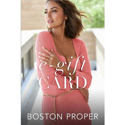 Boston Proper - Boston Proper Gift Card - - - - $500 Dollar