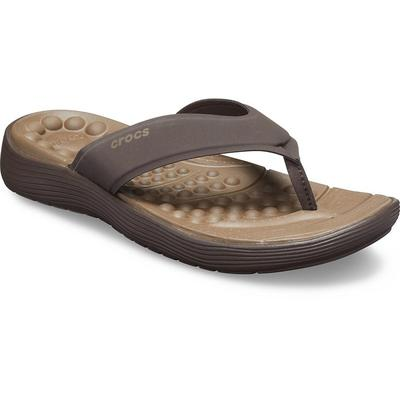 Crocs Espresso / Espresso Men's Crocs Reviva™ Flip Shoes