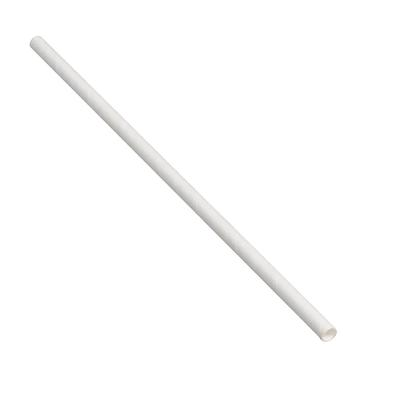 Tablecraft 700130 10 Unwrapped Straws - Paper, White on Sale