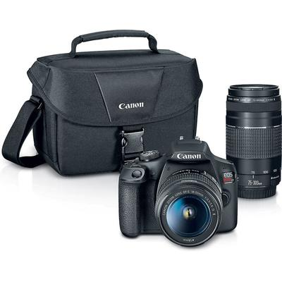 Canon EOS Rebel T7 Two Lens Package on Sale