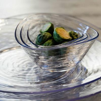Libbey 92391 Oval Serving Platter, 13 x 11-5/8 x 1-3/8, Clear on Sale
