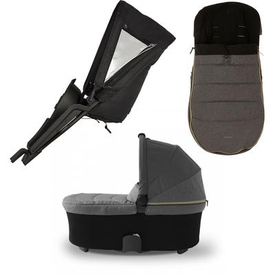 Micralite TwoFold Accessory Bundle with Footmuff  Carbon