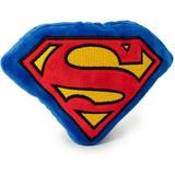 Buckle-Down Superman Shield Squeaky Plush Dog Toy