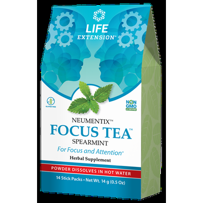 FOCUS TEA™ , Spearmint, 14 packets